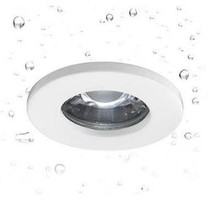Downlight IP65 round transparent 82mm Ø for GU10 spot