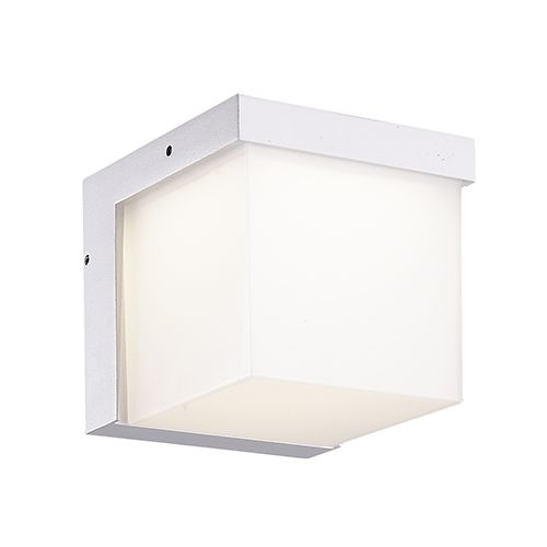 Wall light outdoor LED grey, white or anthracite 117mm high 3,8W