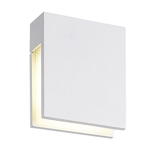 applique murale exterieure blanche ou noire 120mm h 3w myplanetled. Black Bedroom Furniture Sets. Home Design Ideas