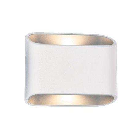 Wandlamp buiten LED zwart of wit up down 180mm 2x5W