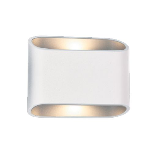 Outdoor Wall Light LED Up Down Black, White 180mm 2x5W