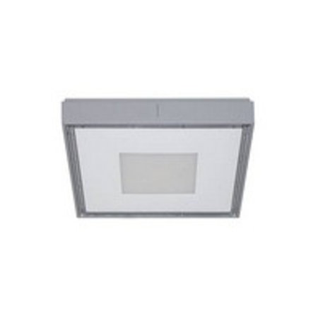 Outdoor ceiling light square LED design 230x230mm 30W