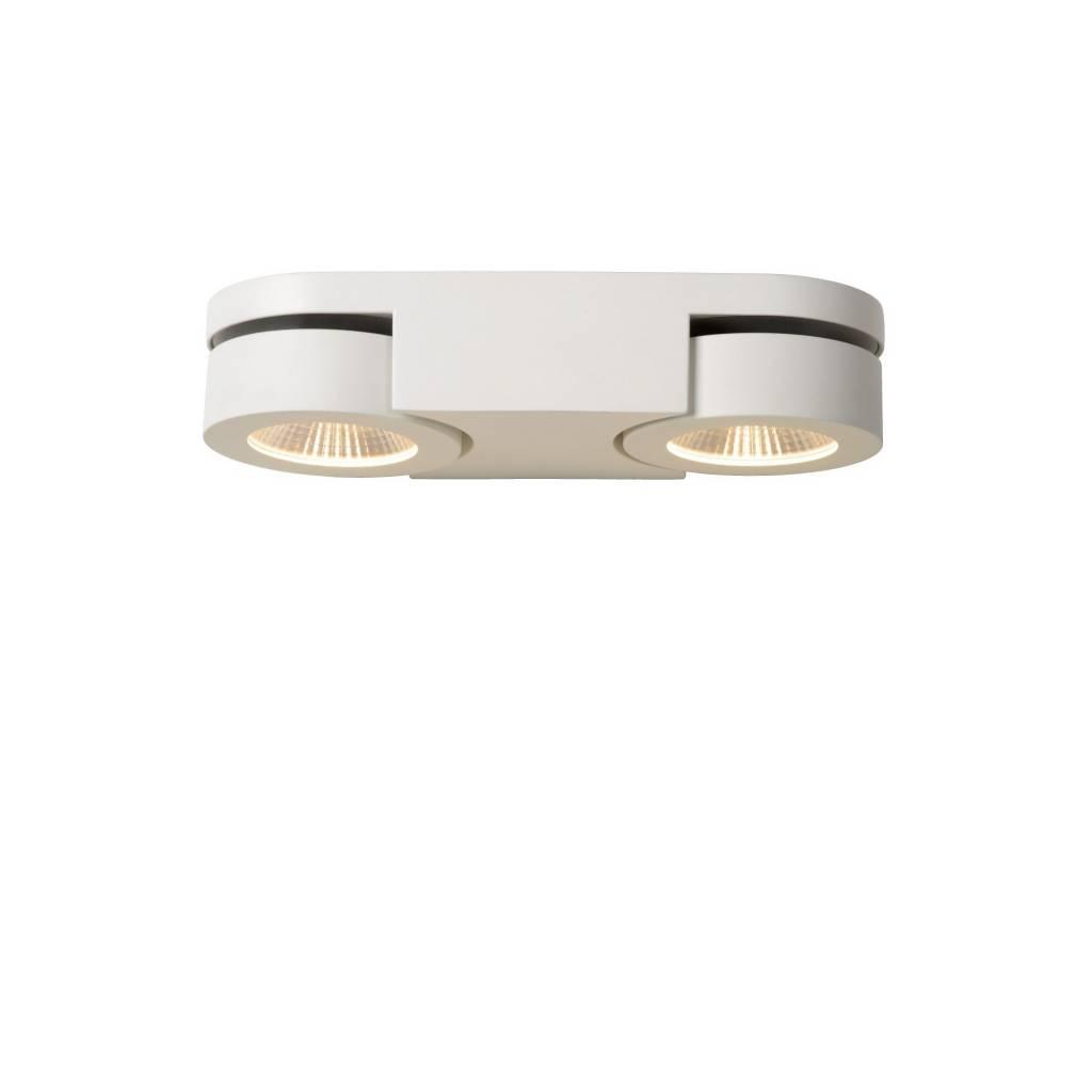 Double wall spotlight LED 2x5W orientable