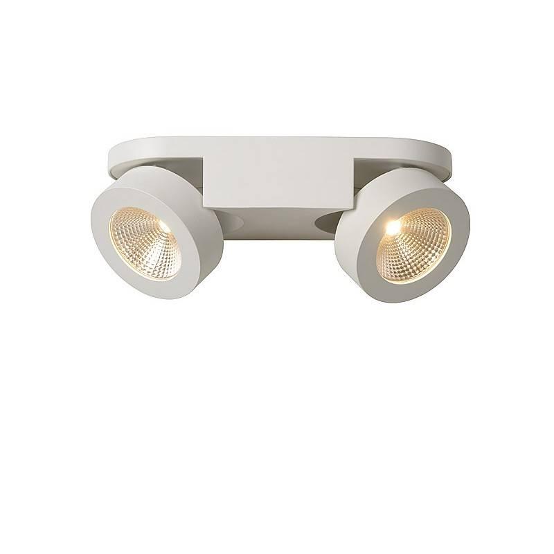 Double wall spotlight led 2x5w orientable myplanetled double wall spotlight led 2x5w orientable aloadofball Choice Image