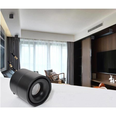 Adjustable spotlight LED 20W white or black