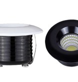 50mm LED downlight 5W white or black
