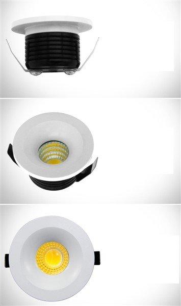 spot encastrable diametre 50 mm led 5w myplanetled. Black Bedroom Furniture Sets. Home Design Ideas