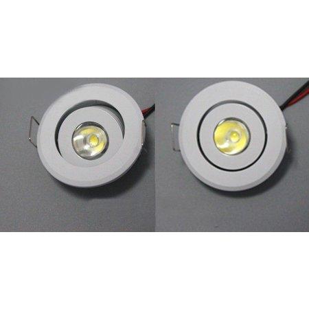 Mini spot led 3W inclinable