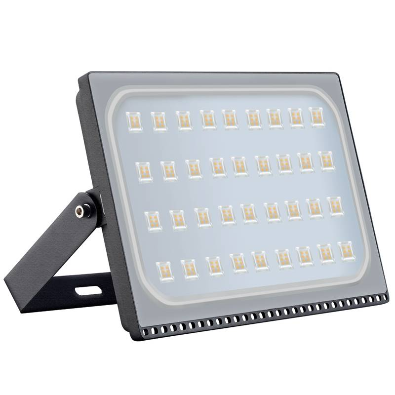 200 watt led outdoor flood light black or grey myplanetled