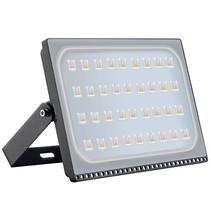 LED bouwlamp 200 watt zwart of wit