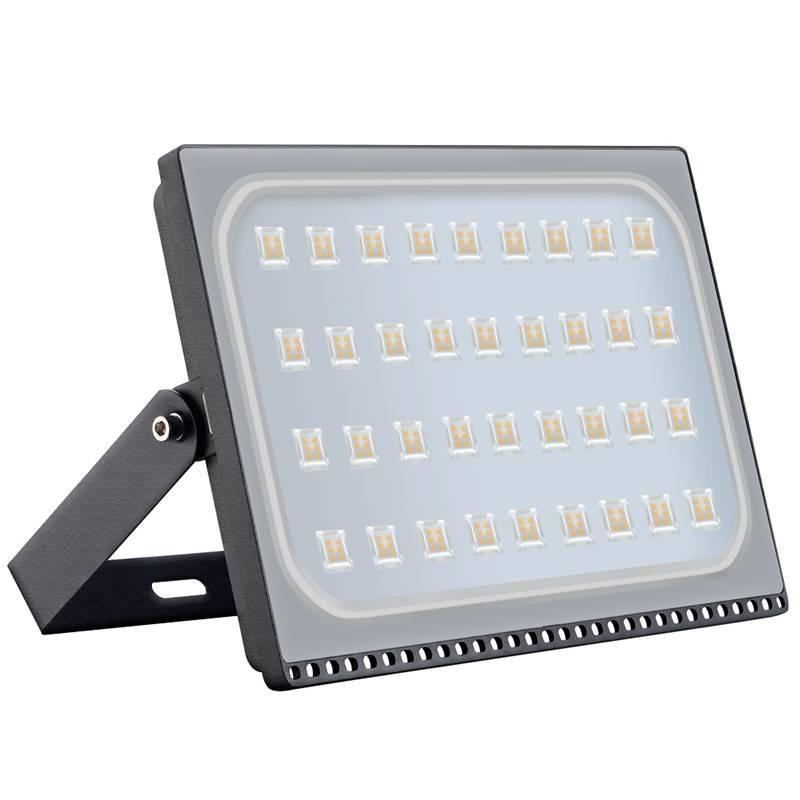 led bouwlamp 200 watt zwart of grijs myplanetled. Black Bedroom Furniture Sets. Home Design Ideas