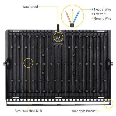 200 watt LED outdoor flood light black or white