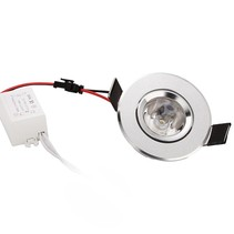60mm downlight LED 3W