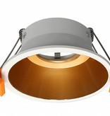 Gold downlight 100mm Ø GU10