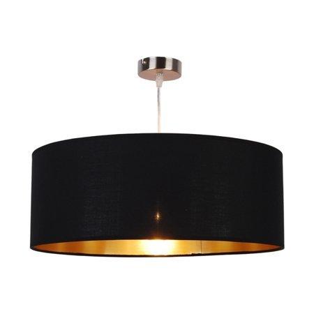 Black and gold pendant light 500 mm Ø