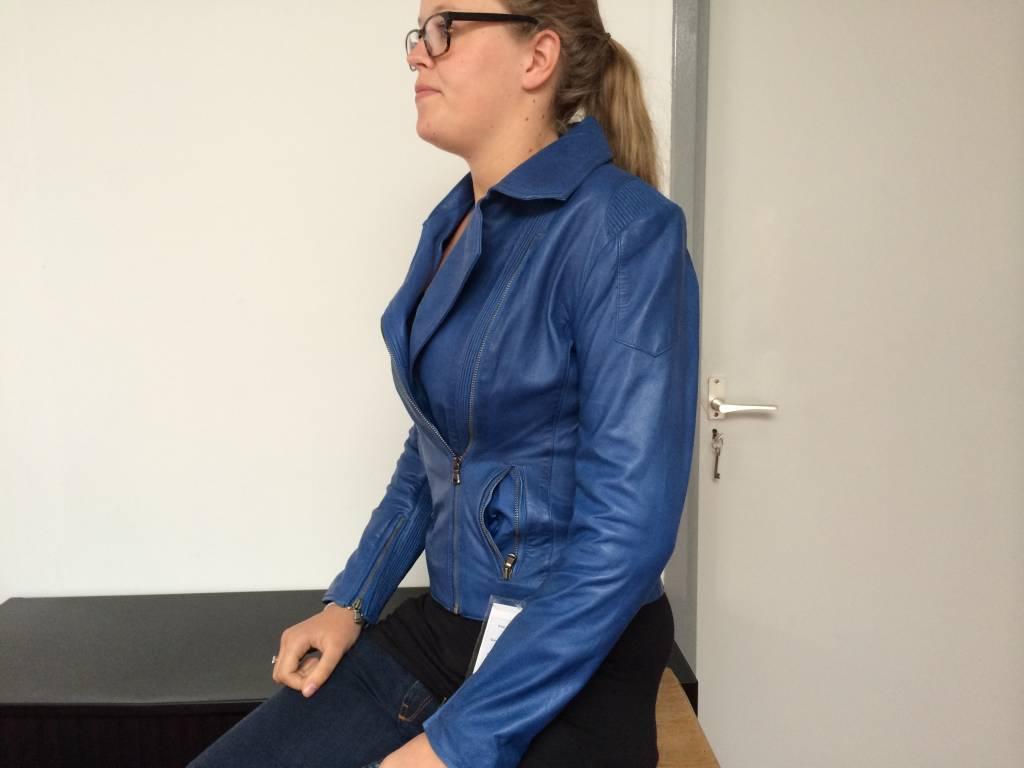 Jong Style Elastic Prouno Blue Lerenjack