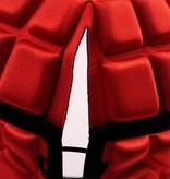 barnett HEAT PRO Rugby Helm, Spielhelm Profi, Farbe rot
