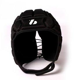 barnett HEAT PRO Rugby Helm, Spielhelm Profi, Farbe schwarz