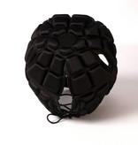 barnett HEAT PRO Wettbewerb Rugby Cap, Farbe schwarz