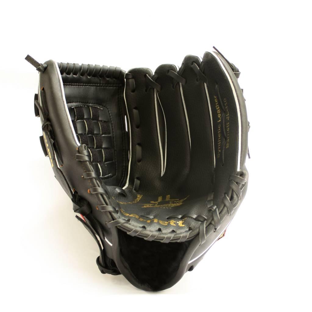 barnett BGBW-1 Baseball Holz Senior 1 Schläger + 1 Handschuh +1 Ball