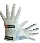 barnett BBG-01 Baseball Schlagmann Batting Handschuhe, weiß