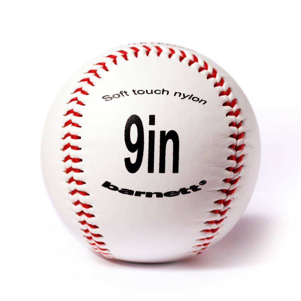 "barnett TS-1 Baseball Ball Training Baseball, Größe 9"" (inch), Farbe weiß, 2 Stück"