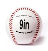 """barnett BS-1 Baseball Ball Anfänger Baseball, Softtouch, Größe 9"""" (inch), Farbe weiß, 12 Stück (1 Dutzend)"""