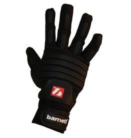 barnett FLG-03 American Football Handschuhe Linemen Profi, OL,DL, schwarz