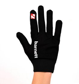barnett FLGL-02 American Football Handschuhe Running, RE,DB,RB, schwarz