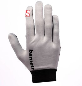 barnett FLGL-02 American Football Handschuhe Running, RE,DB,RB, grau