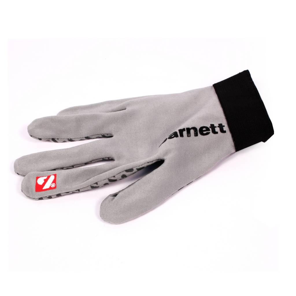 barnett FLGL-02 American Football Handschuhe Running, RE,DB,RB, grau
