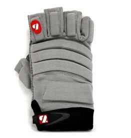 barnett FLGC-02 American Football Handschuhe Linemen neue Passform, kurze Finger, OL,DL, grau