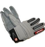 barnett FLG-02 American Football Handschuhe Linemen, neue Passform OL,DL, grau
