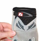 barnett FRG-02 American Football Handschuhe Receiver, Empfänger fit, RE,DB,RB, grau