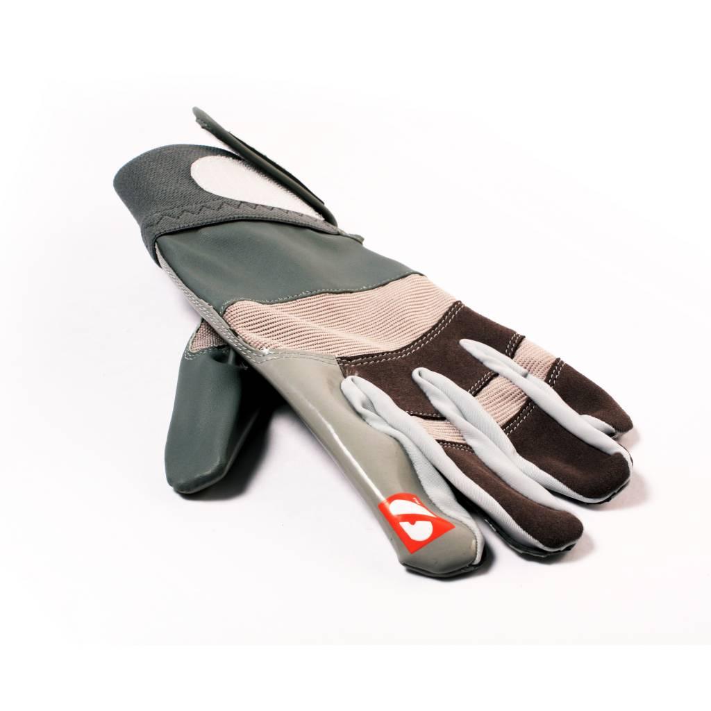 barnett FRG-01 American Football Handschuhe Receiver/Empfänger, RE,DB,RB, grau