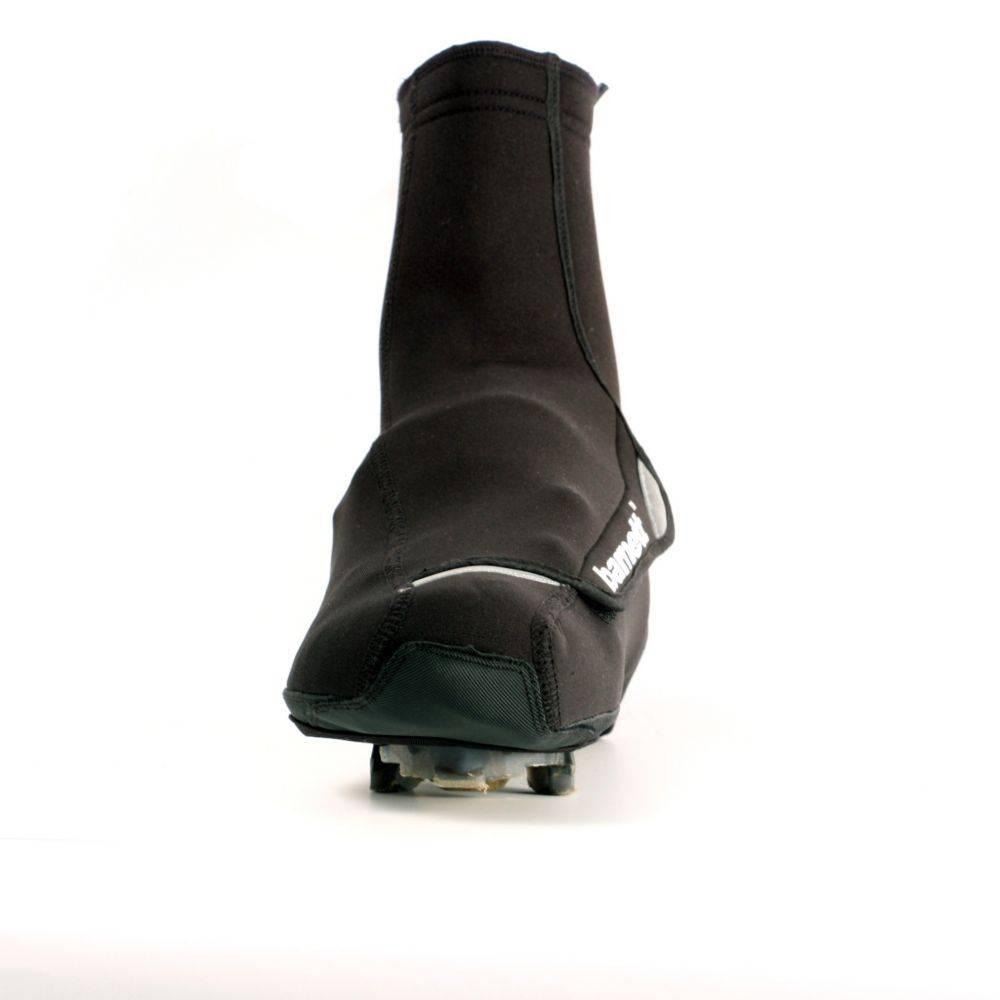 barnett BSP-03 warme Fahrrad-Überschuhe aus Neopren, schwarz