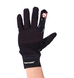 barnett FLG-01 American Football Handschuhe Linemen, OL,DL, schwarz