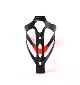 barnett BCA-02 Bidonhalter, Flaschenhalter Aluminium, schwarz