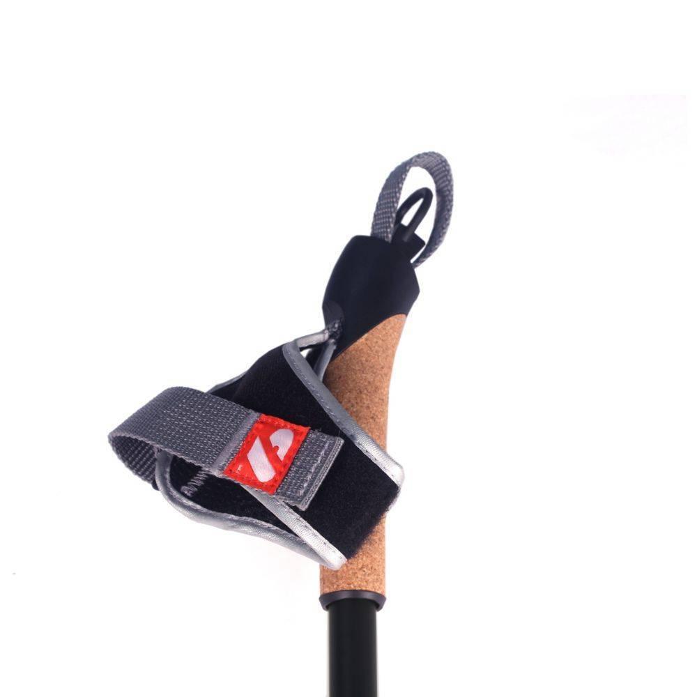 barnett XC-07 Schwarze Profi Carbon Skistöcke für Langlauf und Skiroller
