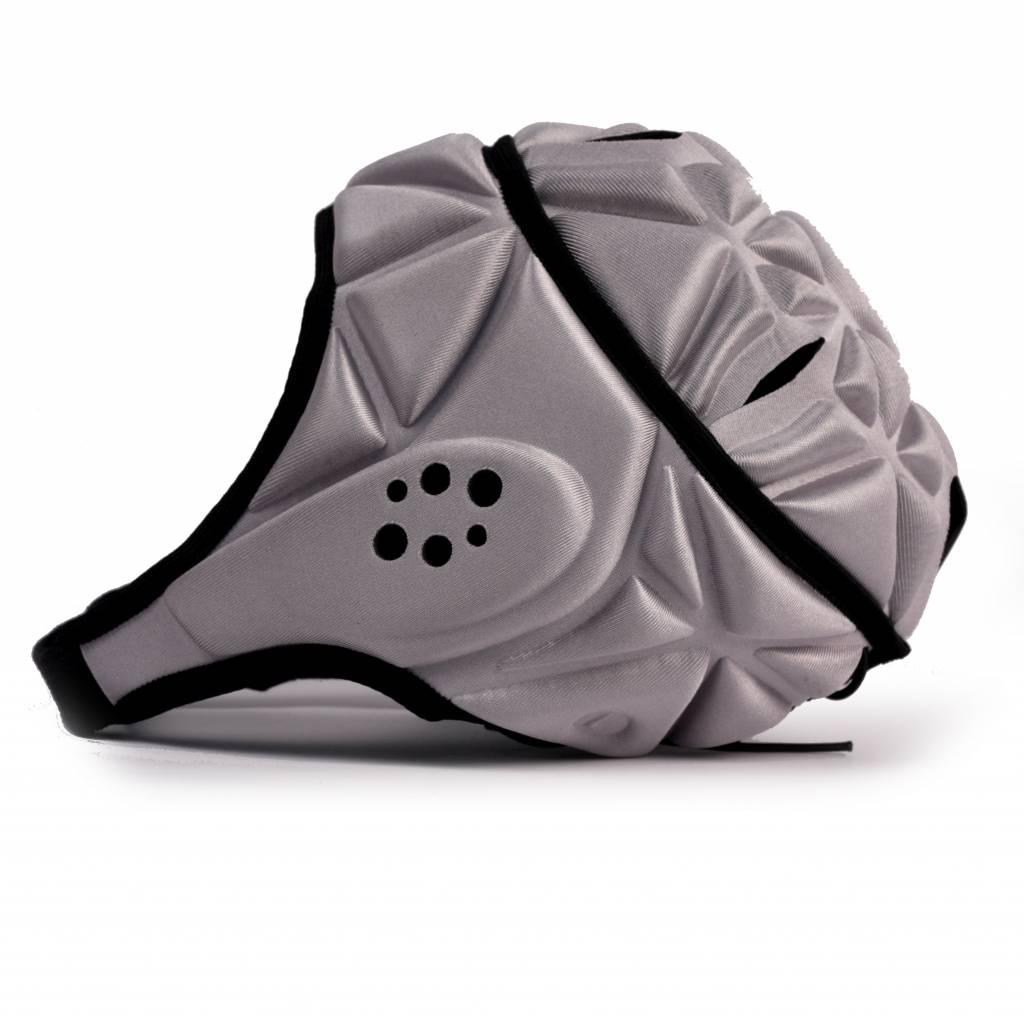 barnett HEAT PRO Wettbewerb Rugby Cap, Farbe grau