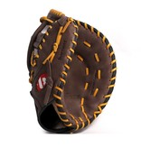 barnett GL-301 Baseball Handschuh Erster Base (First Base) Erwachsene, Echtleder, Wettkampf, Braun