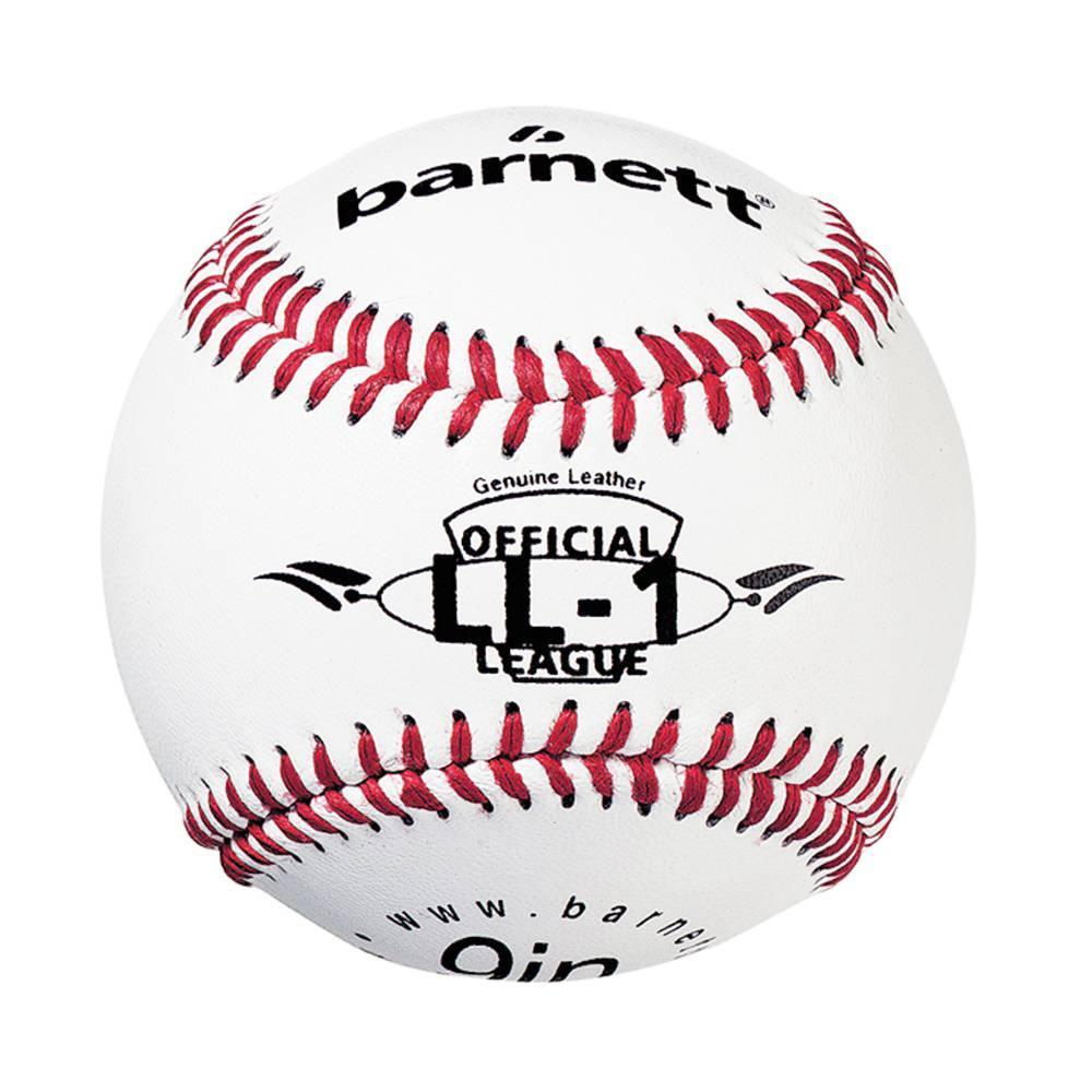 barnett GBSL-1 Baseball Leder Senior Adults Set, Handschuh & Ball, (SL-127, LL-1)