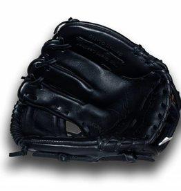 """barnett GL-110 Baseball Handschuh, Echtleder, Wettkampf, Infield Größe 11"""" (inch), schwarz"""