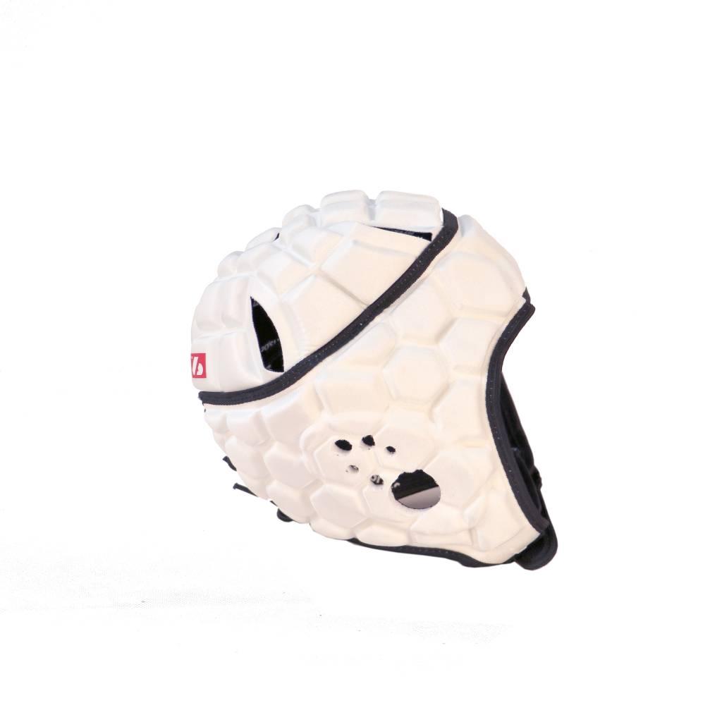 barnett HEAT PRO Rugby Helm, Spielhelm Profi, Farbe weiß