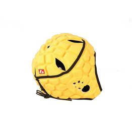 barnett HEAT PRO Rugby Helm, Spielhelm Profi, Farbe hellgold
