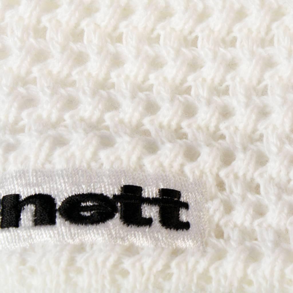 barnett M3 Warmes Stirnband aus Wolle, für Temperaturen bis -30°C, Schwarz, weiss