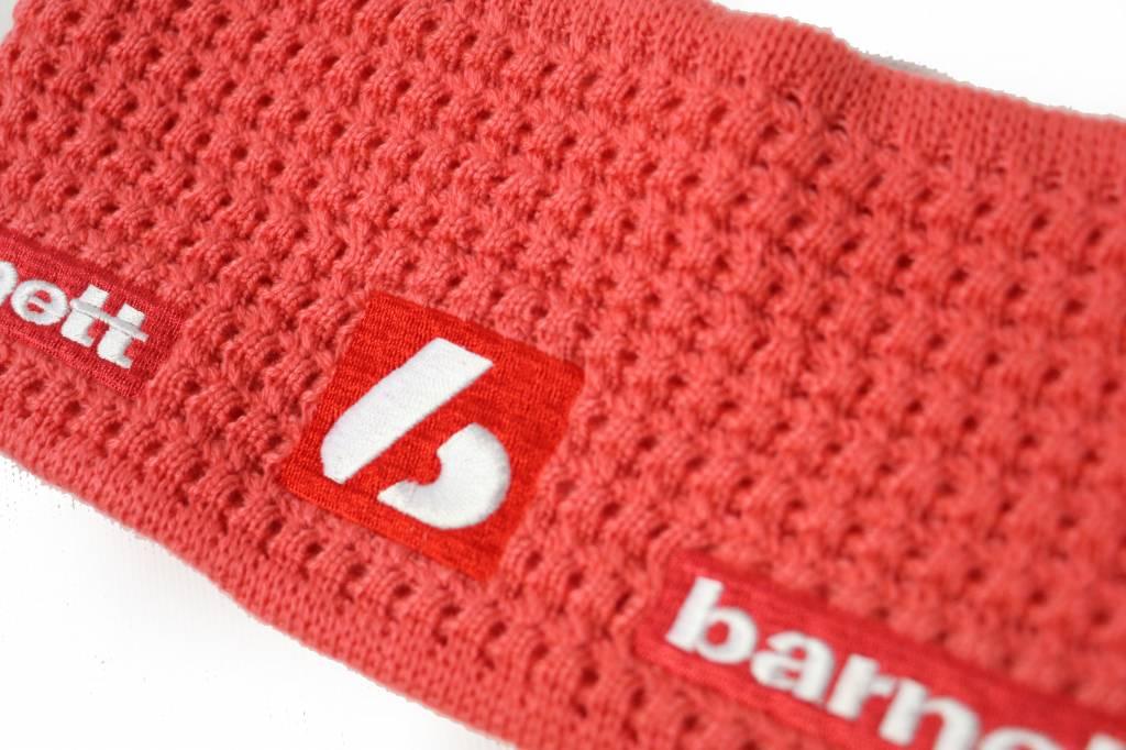 barnett M3 Warmes Stirnband aus Wolle, für Temperaturen bis -30°C, rosa