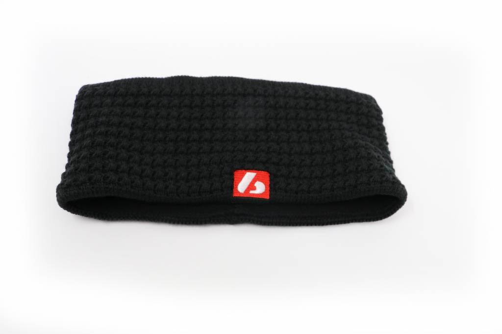 barnett M4 Warmes Stirnband aus Wolle, für Temperaturen bis -30°C, Schwarz