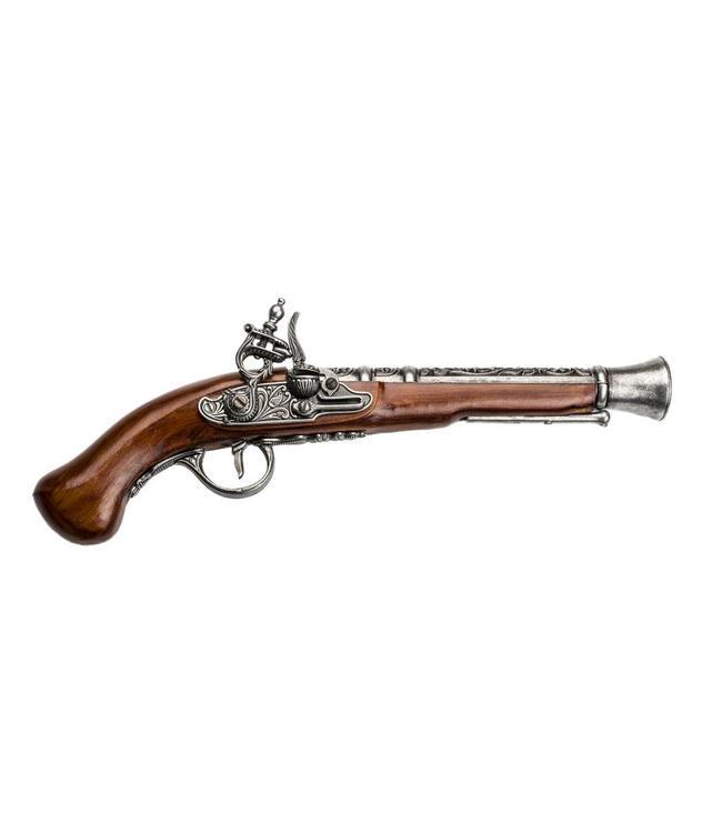 Freibeuter Schrotpistole, Silber-Braun