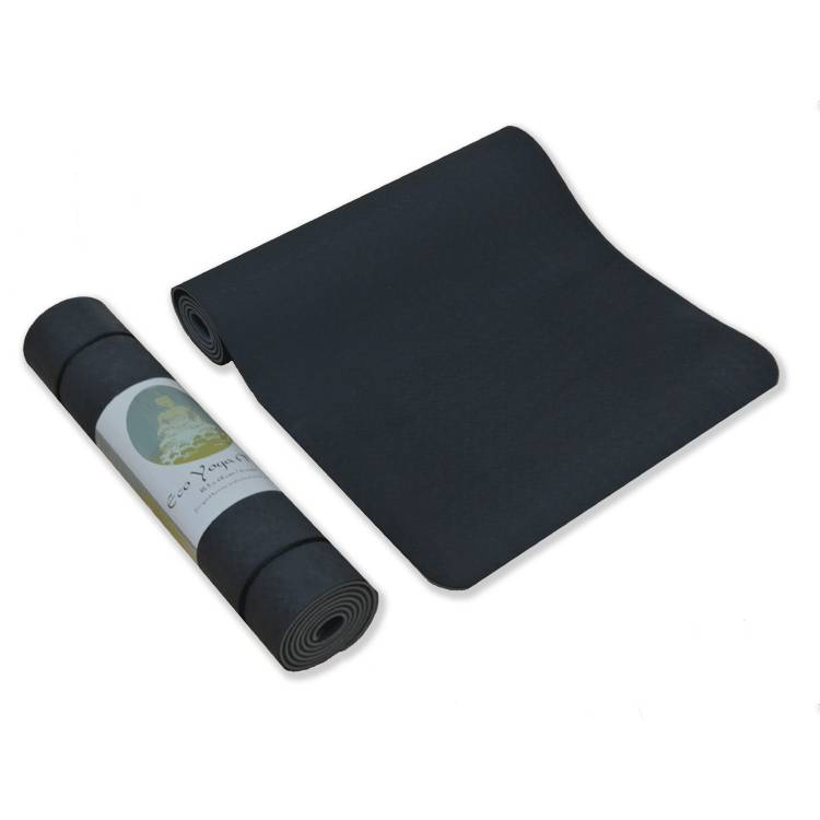 Love Generation Eco Yoga Mat TPE - 6mm - Black